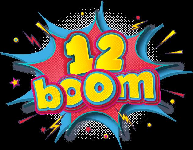 12 בום